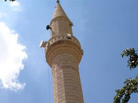 AKP Propaganda vor der Moschee