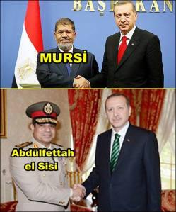 Erdogan schüttelt jedem die Hand