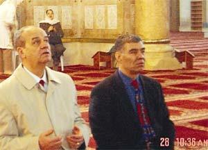 Basbug besuchte neben der Klagemauer auch die al-Aqsa-Moschee