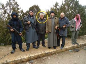 Said Gökdere IHH Vorsitzender von Gaziantep mit Terroristen in Syrien