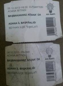 Anhänger haben Barcodekennzeichnungen