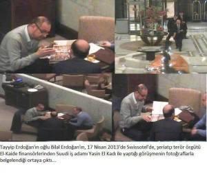 Erdogans Sohn Bilal traf sich am 17. April 2013 mit Yasin al-Qadi