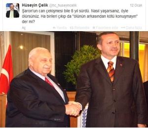 Antisemitismus, Erdogan und Scharon, beste Freunde