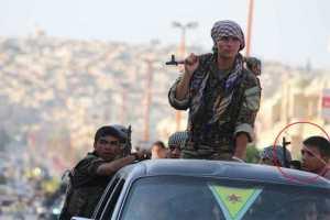 Kindersoldat unter erwachsenen PKK-Terroristen