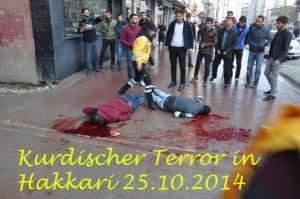 PKK-Terroristen richten Soldaten in ihrer Freizeit mit Schüssen in den Rücken hin