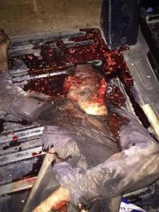 """Der 16-jährige Yasin Börü wurde, als er Fleisch wegen des Opferfestes verteilte, von kurdischen Faschisten der PKK während """"Demonstrationen der PKK"""" verfolgt, mit Messerstichen maltretiert und mit einer Eisenstange ermordet. Die kurdischen Faschisten glaubten er sei ein kurdischer Hizbullah"""