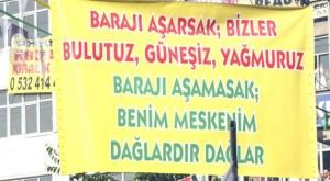 Auf einer HDP Kundgebung heißt es: